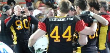 Foto ricordo per i giocatori tedeschi
