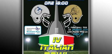 La locandina del IV Italian Bowl