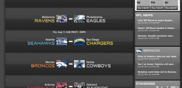 NFL '11 for iPad