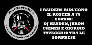 Raiders 75 men Roster 2014